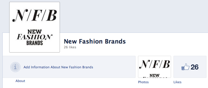 New Fashion Brands Facebook Page NewFashionBrands.com