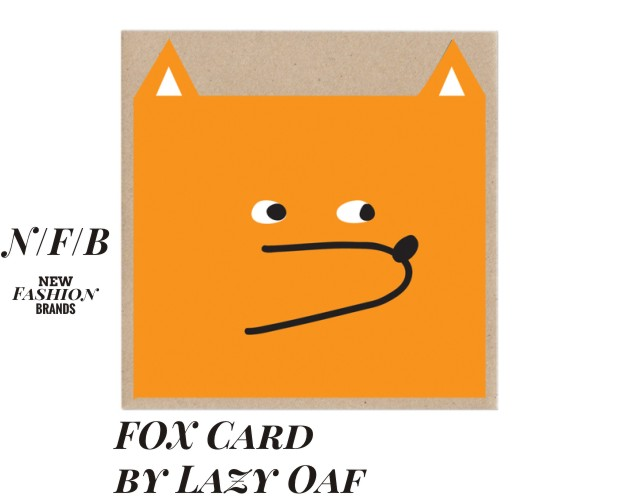 fox card by lazy oaf