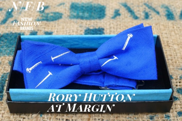 Rory Hutton's Bows for Beaus - New Fashion Brand - exhibiting at Margin London
