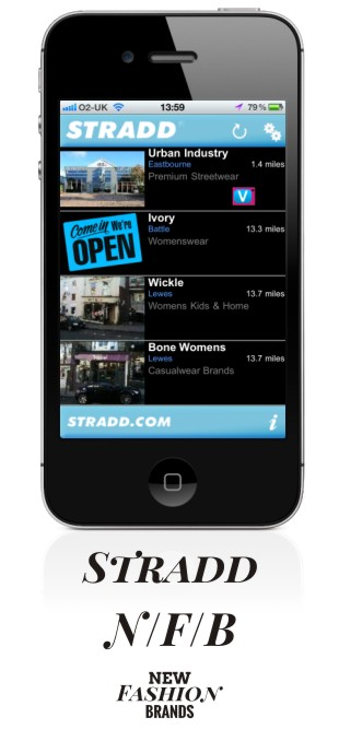 Stradd The indie shop search app for iPhone and iPad New Fashion Brands NewFashionBrands.com