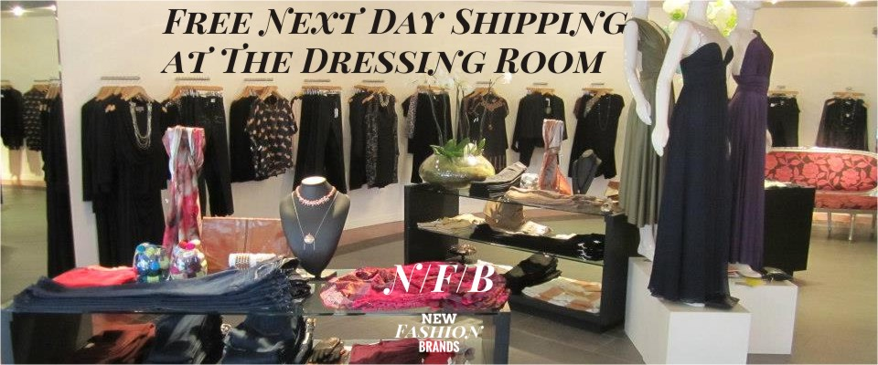 Free Next Day Shipping at The Dressing Room